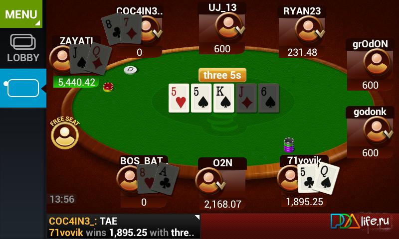 Мобильный Покер Онлайн Java