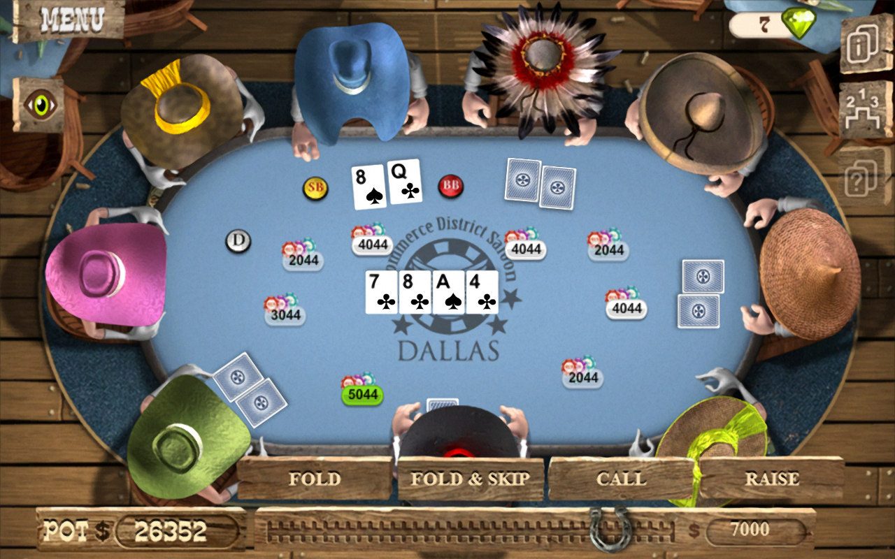 онлайн ковбои покер