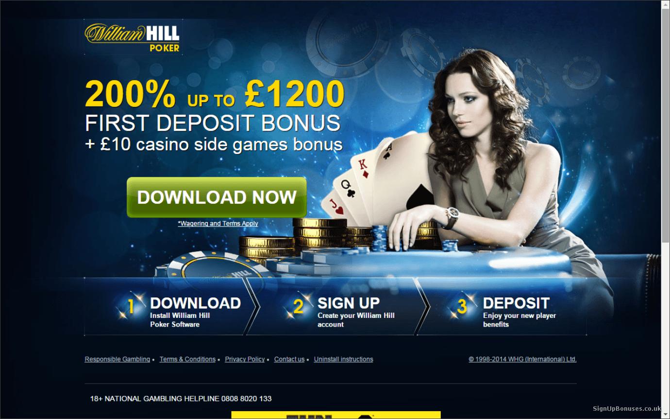 официальный сайт william hill покер