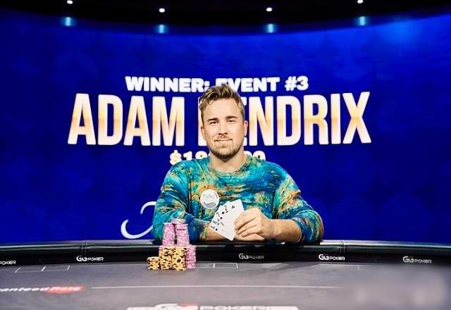 Адам Хендрикс на турнире по PLO фестиваля Poker Masters