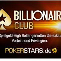PokerStars приглашает владельцев 1 000 000 000 условных фишек в клуб миллиардеров