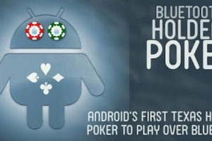 Играть в покер на Андроид через блютуз