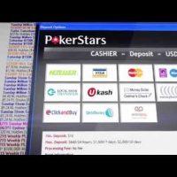 Как пополнить счет в PokerStars?