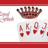 Комбинация Флеш Роял в покере