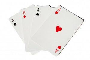 Как называется 4 туза в покере?